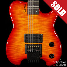Carvin HH1 Allan Holdsworth Signature Cherry Burst Flame Top