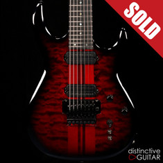 Carvin DC727 7 String Deep Black Cherry Burst