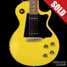 Rock N Roll Relics Thunders II Singlecut TV Yellow