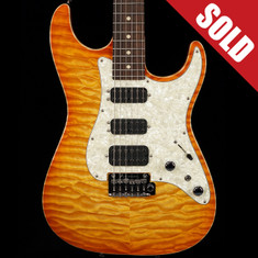 Tom Anderson Drop Top Classic Hollow Honey Burst