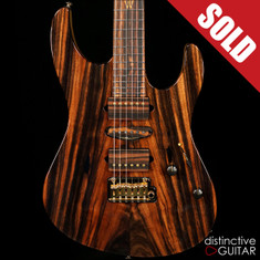 Suhr Modern 2016 Collection Macassar Ebony #79