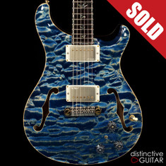 Paul Reed Smith PRS Private Stock Fully Custom Hollowbody II Piezo Indigo Blue
