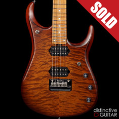 Ernie Ball Music Man JP15 Sahara Burst Quilt Top