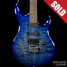 Ernie Ball Music Man Luke III BFR HSS Blueberry Burst