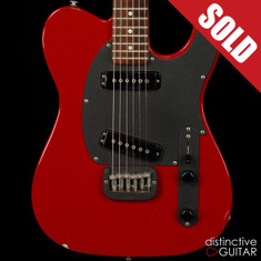 1987 G&L ASAT Special Candy Apple Red