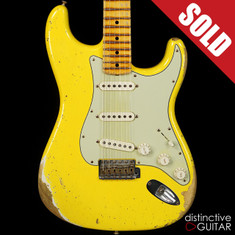 Fender Custom Shop '69 Stratocaster Relic Graffiti Yellow