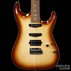 Suhr Standard Carve Top Dark Brown Burst 27398
