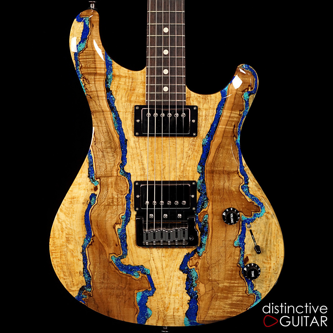 knaggs severn t3 trembuck hh spalted maple lapis inlay. Black Bedroom Furniture Sets. Home Design Ideas