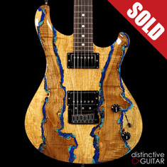 Knaggs Severn T3 Trembuck HH Spalted Maple Lapis Inlay