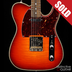 Red Rocket Atomic Telecaster Sunburst
