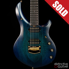 Ernie Ball Music Man John Petrucci Signature Majesty Azzurro Gold HW