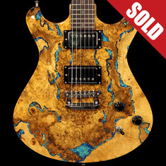 Knaggs Keya Tier 2 Doublecut Spalted Maple Lapis Stone