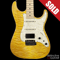 Tom Anderson Drop Top Classic HSS Natural Yellow Sun