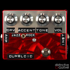 Shin's Music Dumbloid Special Overdrive Pedal Red Scratch
