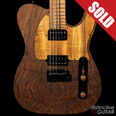 Suhr Classic T 24 Custom Distinctive Select Walnut
