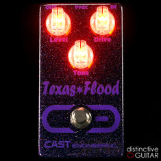 CAST Engineering Texas Flood Black / Purple Sparkle