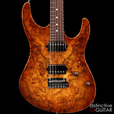 Suhr Modern Custom Distinctive Select #6 Spalted Maple Natural Burst