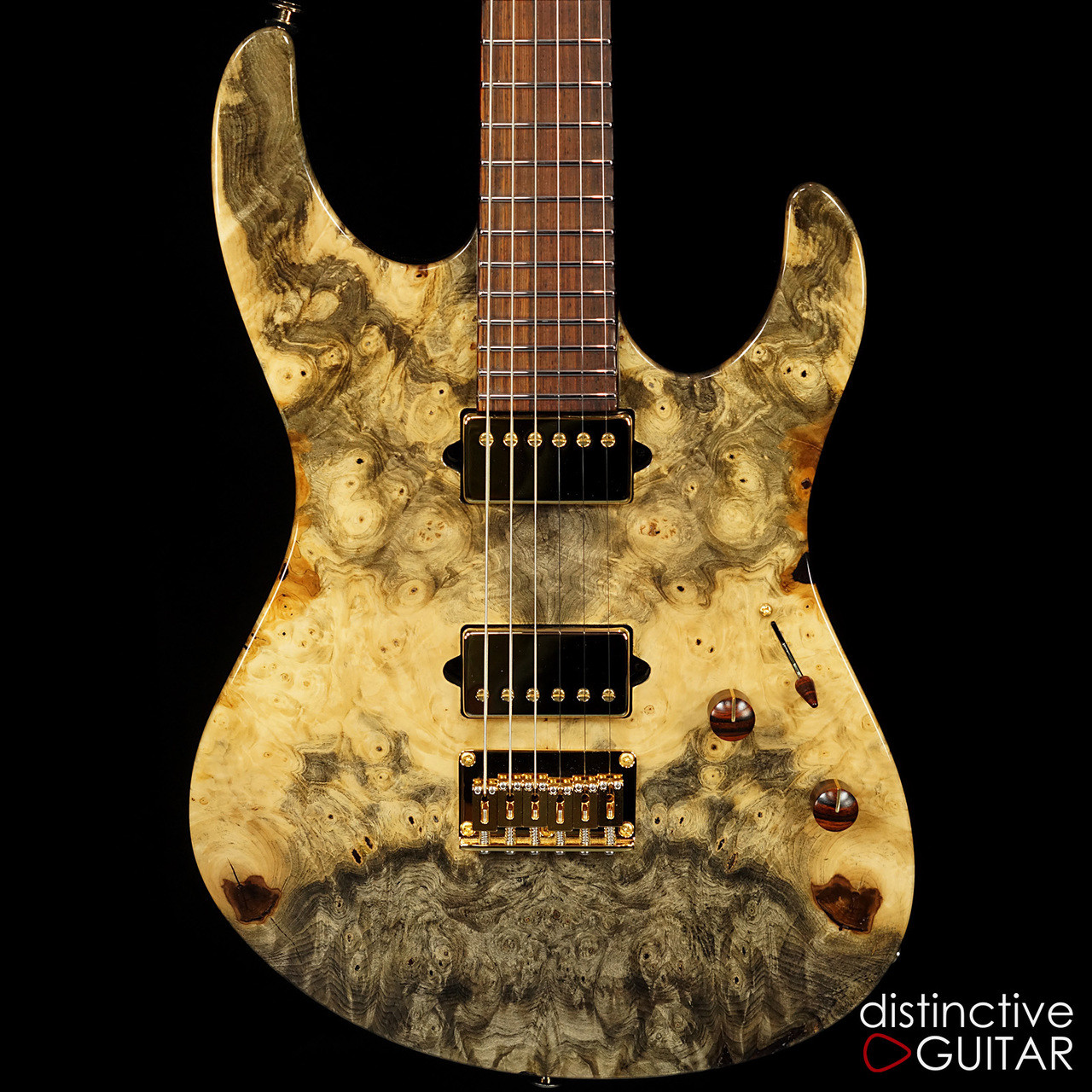 suhr modern custom set neck buckeye burl natural gloss 28835. Black Bedroom Furniture Sets. Home Design Ideas