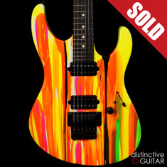 Suhr Modern 80s Shred Neon Drip Limited Run JST6T1Q