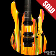 Suhr Modern 80s Shred Neon Drip Limited Run JST8E5J