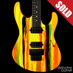 Suhr Modern 80s Shred Neon Drip Limited Run JST6Q2J