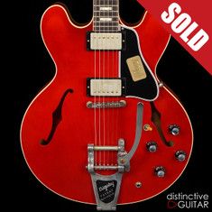 Gibson Custom Shop '63 ES-335 Chicago Music Exchange Exclusive Faded Cherry Light Relic