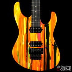 Suhr Modern 80s Shred Neon Drip Limited Run JST0L3H