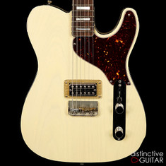 RS Guitarworks Rockabilly Jr. Custom Trans White