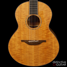 Lowden S-35M Robson Open Gear Tuners Fiddleback Mahogany