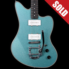 Red Rocket StyleMaster Jazzmaster Seafoam Green Sparkle *SOLD*