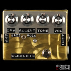 Shin's Music Dumbloid Special Overdrive Pedal  Gold Scratch