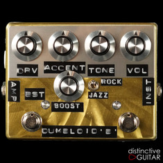 Shin's Music Dumbloid Special Boost Overdrive Pedal  Gold Scratch