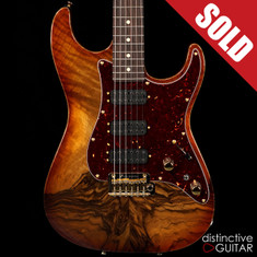 Tom Anderson Drop Top Classic Hollow Honey Burst Shaded Edge