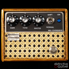 Shin's Music MKI Overdrive Wood / Wicker