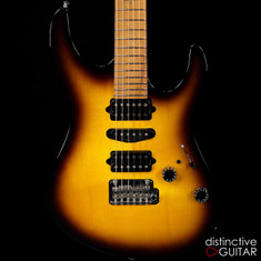 Suhr Modern Antique Guthrie Govan Roasted Recovered Sinker Maple #5 Tobacco Burst