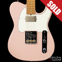 Suhr Classic T Antique Roasted Recovered Sinker Maple #10 Shell Pink