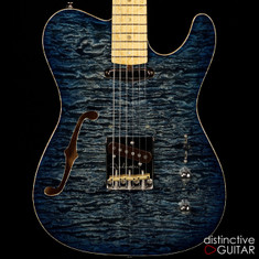 Fibenare Roadmaster '56 Thinline NAMM Blue Burst Quilt