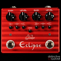 Suhr Eclipse Dual Channel Overdrive / Distortion Red Billet Aluminum