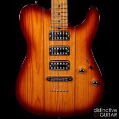 Suhr Classic T Custom NAMM Select TV Jones Brown Burst JS8A8H