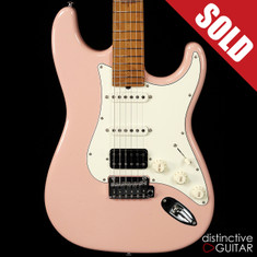 Suhr Classic Antique Roasted Recovered Sinker Maple #10 Shell Pink