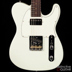 Suhr Classic T Antique Roasted Recovered Sinker Maple #12 Olympic White