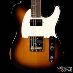 Suhr Classic T Antique Roasted Recovered Sinker Maple #13 2 Tone Tobacco Burst