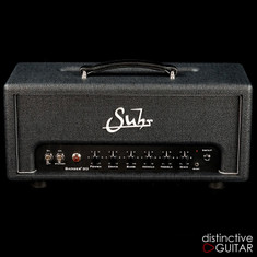 NEW Suhr Badger 30 Watt Amp Head Black / Silver