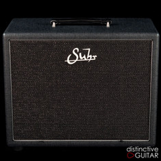 Suhr Closed Back 1 x 12 Cabinet Black / Silver