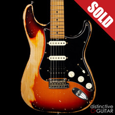 Suhr Classic Antique Custom Extra Heavy Relic 3 Tone Sunburst 31565
