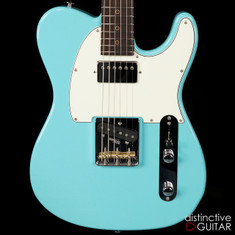 Suhr Classic T Antique Roasted Recovered Sinker Maple #16 Daphne Blue