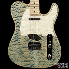 Tom Anderson Drop T Classic Natural Blue Quilt 02-21-17N