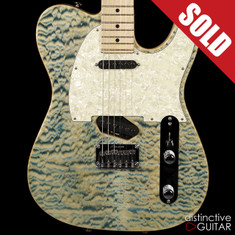 Tom Anderson Drop T Classic Natural Blue Quilt