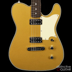 Red Rocket Custom Atomic Telecaster Gold Top
