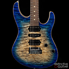 Suhr Custom Modern Hand Selected NAMM Top Oceanside Burst JS9U3E